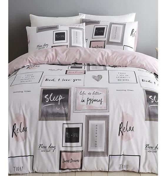 Catherine Lansfield Sleep Dreams King Duvet Cover