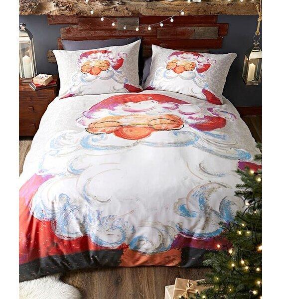 Santa Claus, Christmas Themed Double Bedding