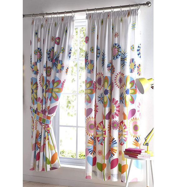 Candy Bloom Curtains 54s
