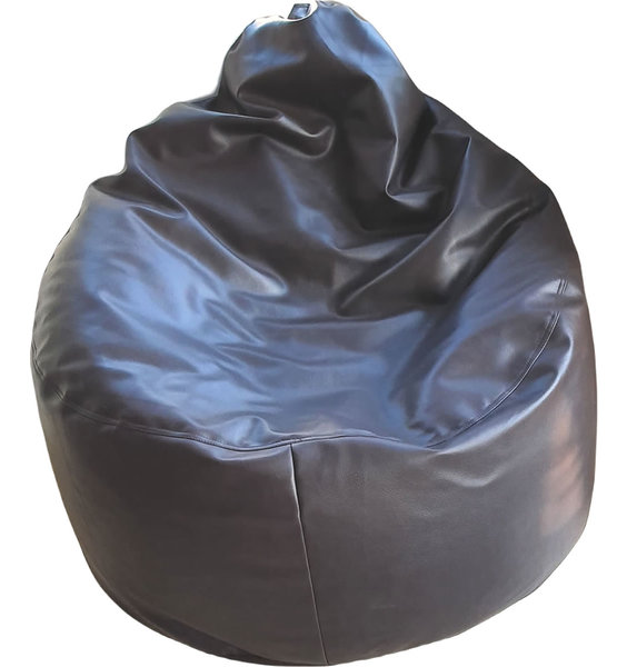 Extra Large Faux leather Adult Bean Bag Lounger Brown