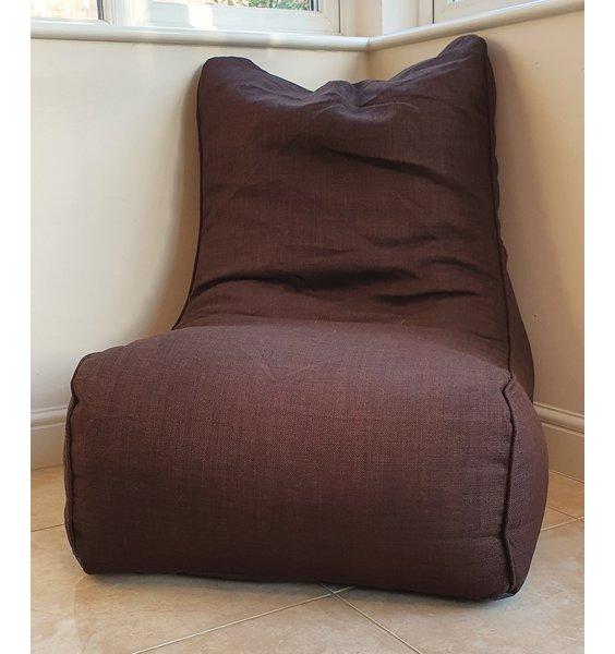 Linoso Gaming Bean Bag Large Lounger Bean Chair - Chocolate