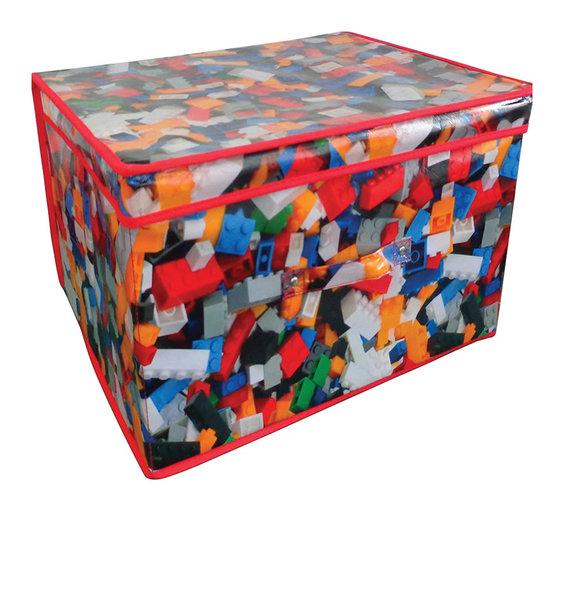 Multi coloured lego building bricks