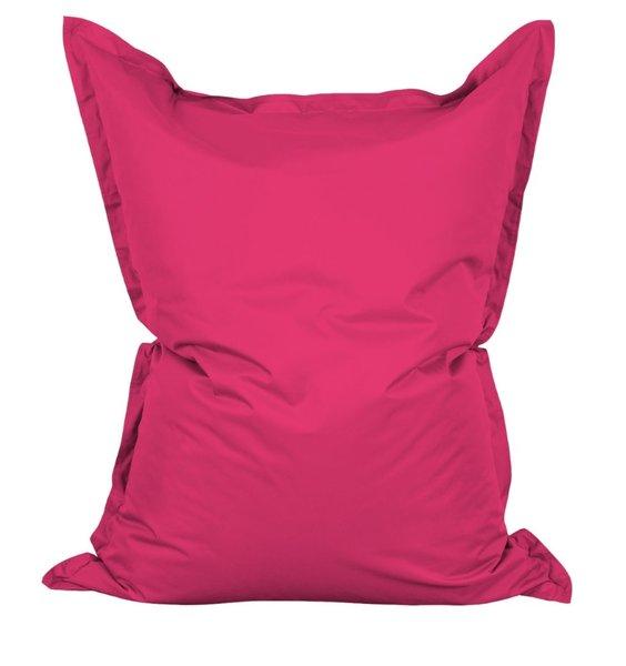 Pink outdoor extra large bean bag lounger