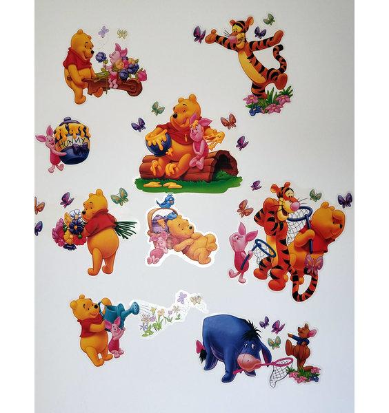 Winnie The Pooh Sticker Set Pack Of 17