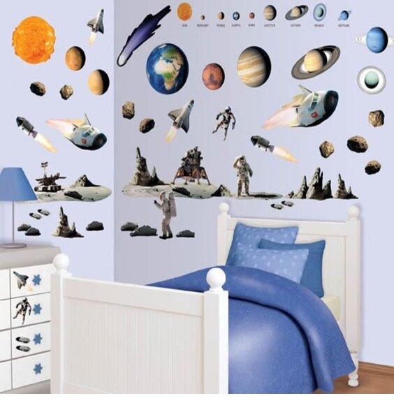 Space Adventure Wall Sticker Kit