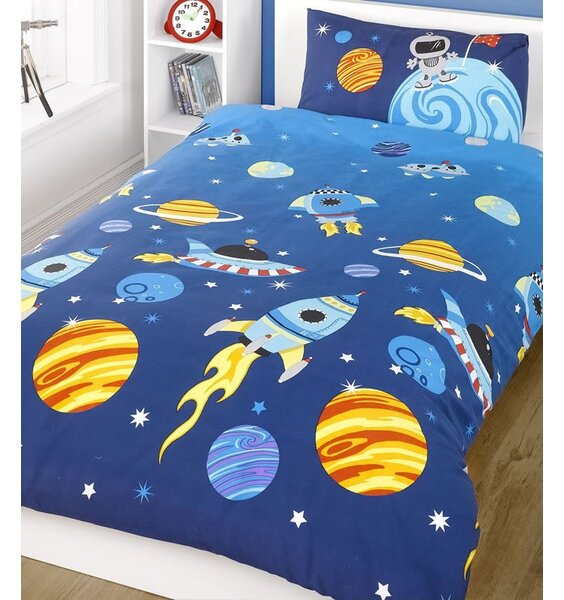 Rocket/Space Themed Toddler Bedding
