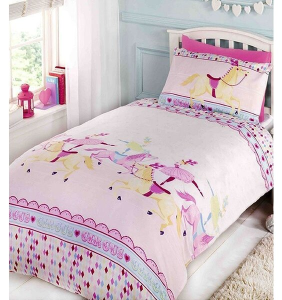 Horse And Ballerina Double Bed Linen Set