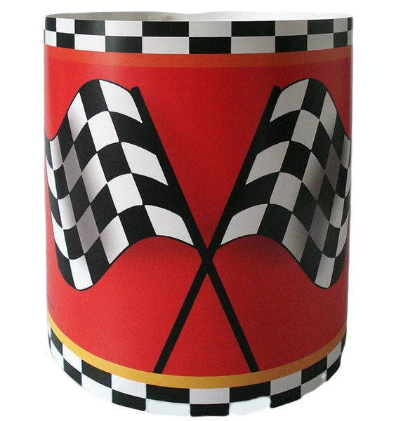 Chequered Flag Light Shade