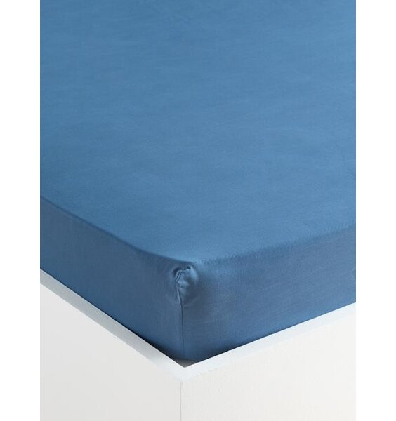 Single Fitted Sheet and Pillowcase - Blue