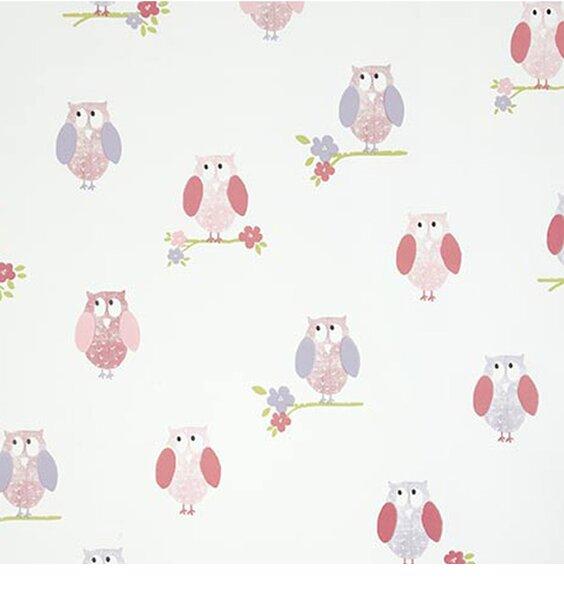 Birdhouse Wallpaper - Pink - Last One!