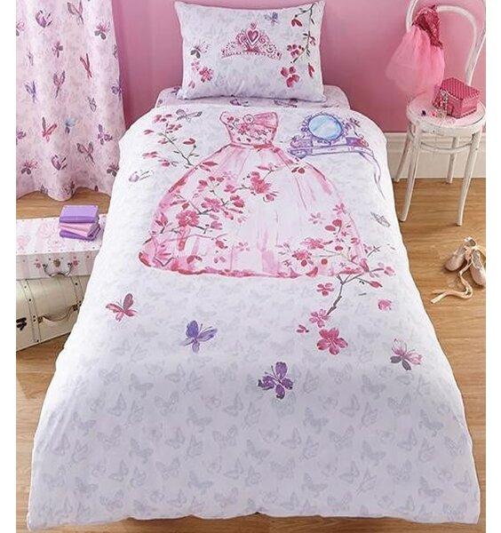 Glamour Princess Single Bedding, Fabulous Pink And Purple Set
