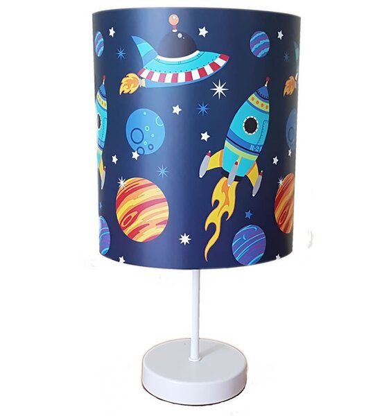 Space Bedside Lamp Blue