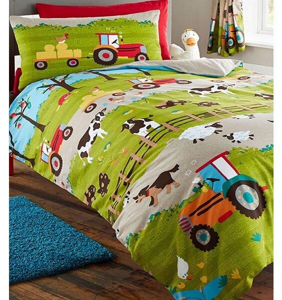 Farmyard Animal Bedding. Single Duvet