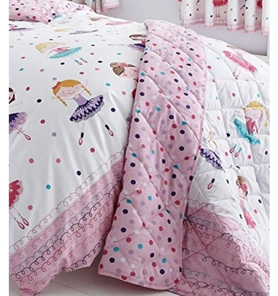 Ballerina Quilted Throw