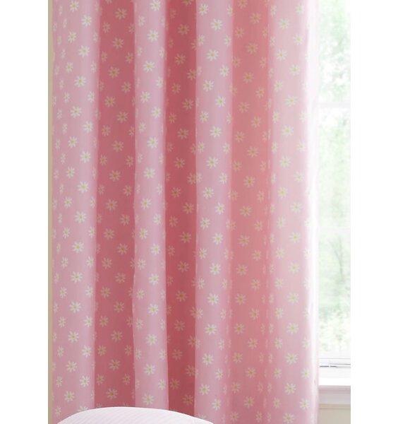 Girls Eyelet Curtains Ditsy Daisy 66 X 72 Inch