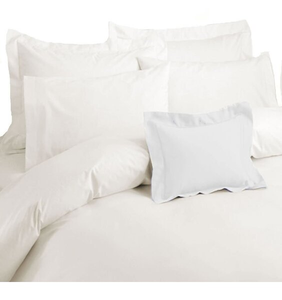 Pure Egyptian Cream Cotton Quilt Cover. Pillowcase not included.
