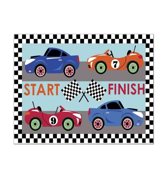 Racing Car Rugs 60 x 90 cm