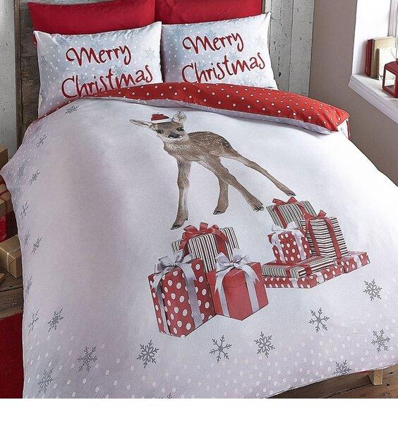 Catherine Lansfield Christmas Deer Duvet Set