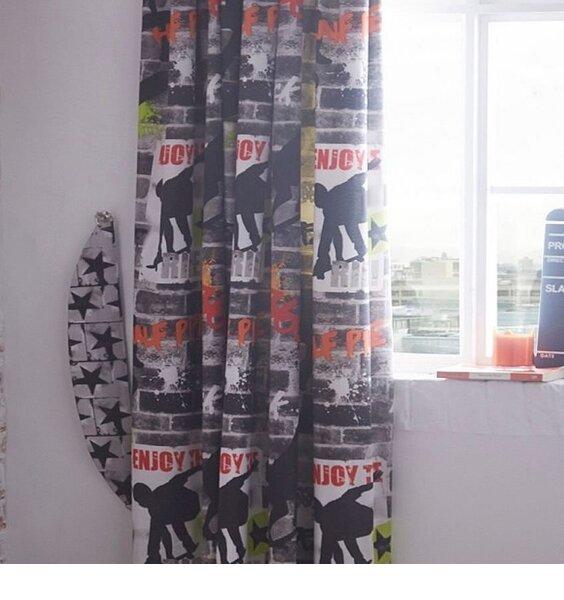 Tricks, Skateboard and Graffiti Curtains 54s