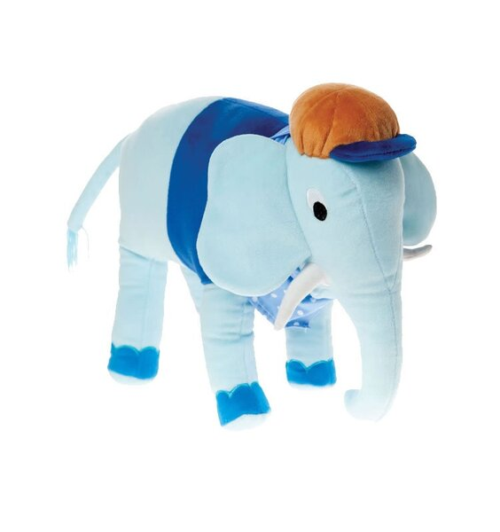 Eric Elephant, Large Cuddle Plush by Hiccups