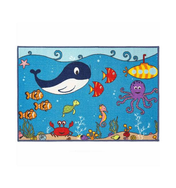 Sealife, Ocean Themed Rug 80  x 120 cm