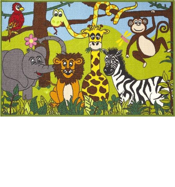 Jungle Animals Rugs 80  x 120 cm