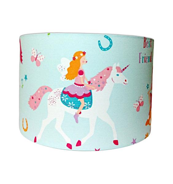 Magical Unicorn Large Fabric Light Shade Pink Mane
