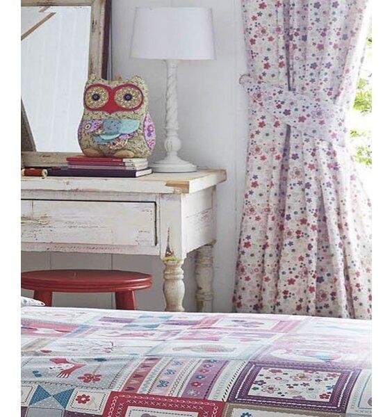 Floral Print Curtains 72s