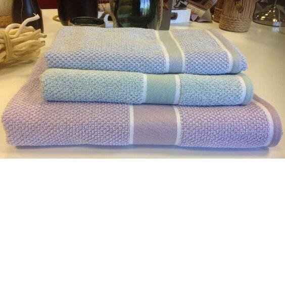 Eleanor James Seattle Hand Towel - Mint
