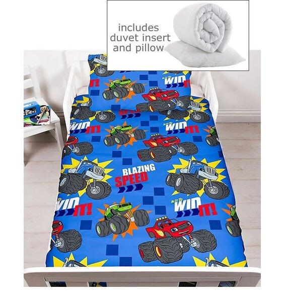 Blaze Toddler Bedding Set Including Duvet Amp Pillow