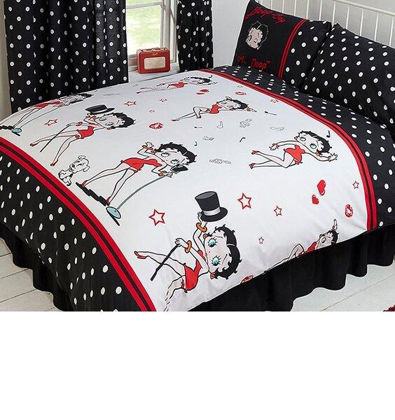 Betty Boop Super King Size Bedding - Super Star