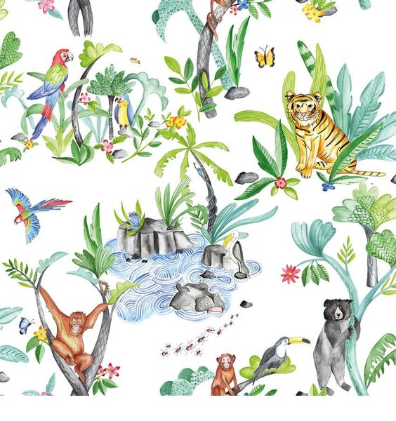 Jungle Mania Wallpaper
