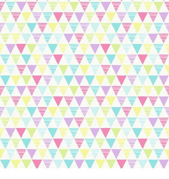 Jester Bright Geometric Wallpaper