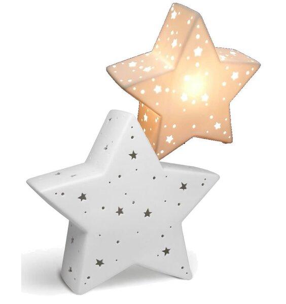 Star Shaped Night Light - 3D Ceramic