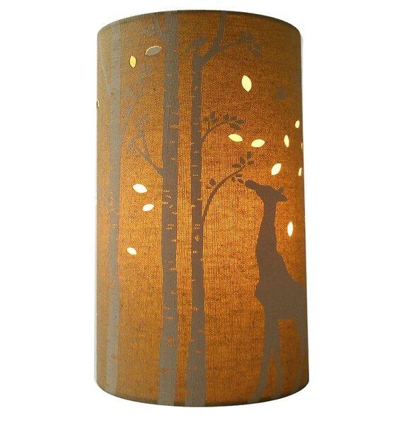 Giraffe, Fabric Table / Bedside Lamp