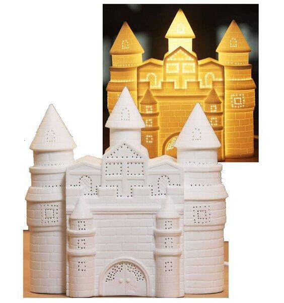 3D Ceramic Night Light - Fairy Castle