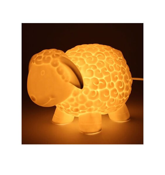 Toddlers Ceramic Night Light - Sheep
