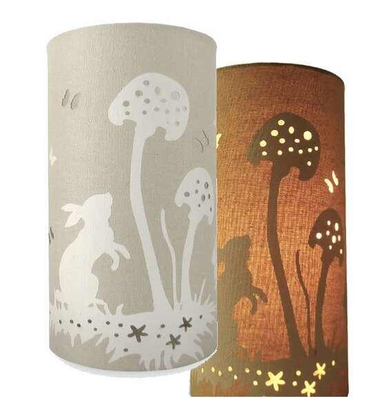 Rabbits, Fabric Table / Bedside Lamp