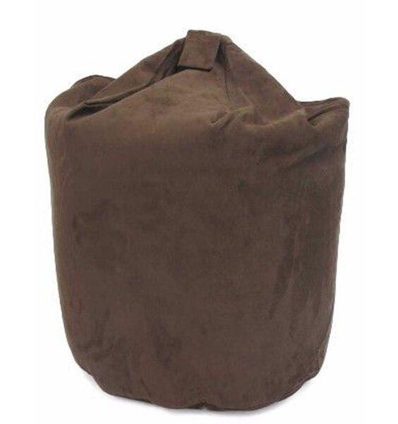 Large, faux suede bean bag - adult size.