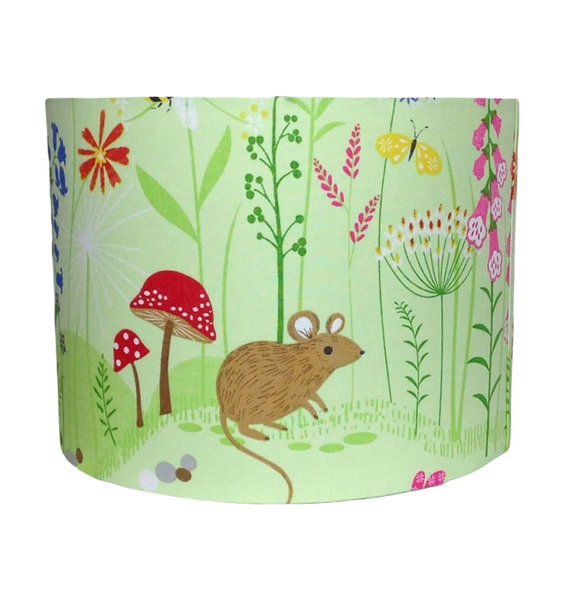 Bluebell Woods, Large Fabric Light Shade