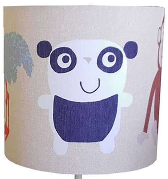 Animal Kingdom Fabric Lampshade