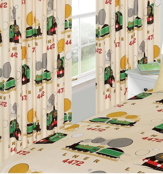 Little Flying Scotsman Curtains 72s