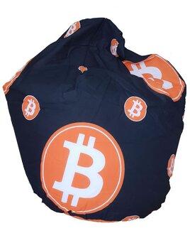 Black and Orange, Small Bean Bag
