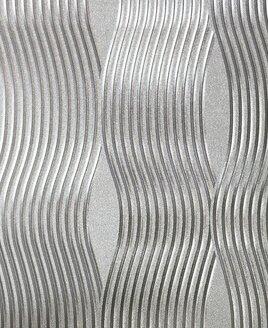Arthouse Foil Wave Wallpaper - Silver