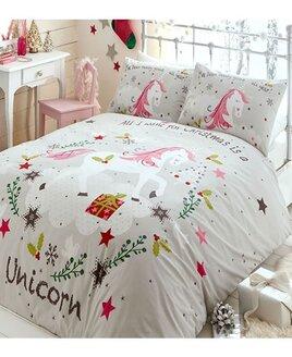 Wishing for Unicorns, Christmas Bedding