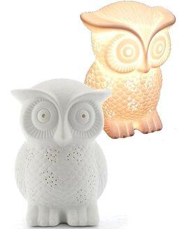 3D Ceramic Night Light - Owl