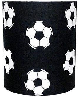 Black Football, Medium Fabric Light Shade