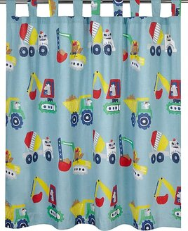 Little Workman Kids Curtains - Tab Top 54s