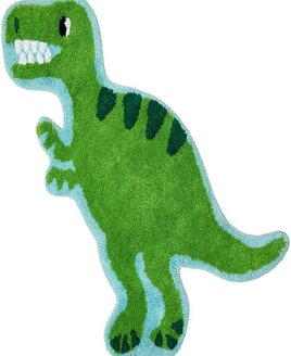 Roarsome Dinosaur T-Rex Shaped Rug
