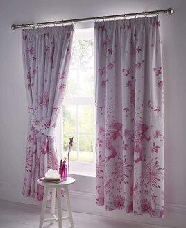 Fairy Princess Curtains 72s Pink